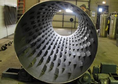 Rotary Basket - Mixing Tube with Agitators