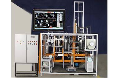 Ethyl Acetate and Hydrogen Production Pilot Plant