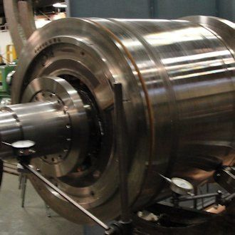 Machined Rotor Assembly