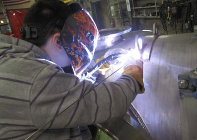 GTAW Welding of Lugs
