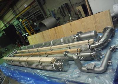 Vacuum Jacketed Insulated Hose Large B